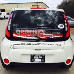 9 Round partial vehicle wrap_Knoxville, TN