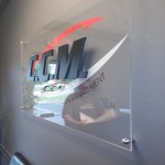 CCM routed letter on acrylic sign 2_Knoxville, TN