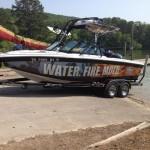 Ethos Restoration vinyl boat wrap 2_Knoxville, TN