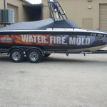 Ethos Restorations wrapped boat_Knoxville, TN