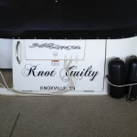 Knot Guilty vinyl boat name_Knoxville, TN