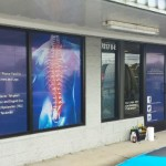 Knoxville Chiropractic one way vision vinyl_Knoxville, TN