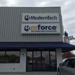 Mforce pylon sign_Knoxville, TN