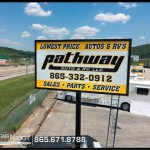 Pathway pylon sign_Knoxville, TN