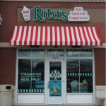 Rita's channel letter sign_Knoxville, TN