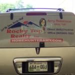 Rocky Top Realty back window perferation_Knoxville, TN