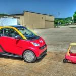 Smart Car Little Tyke vehicle wrap_Knoxville, TN