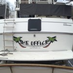 The Office vinyl boat name_Knoxville, TN