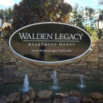 Walden Legacy monument sign_Knoxville, TN