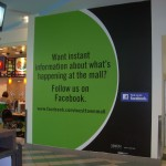 West Town Mall Food Court vinyl graphic_Knoxville, TN